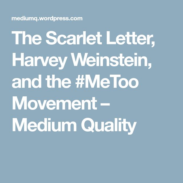11 best scarlet letter teaching resources images on pinterest the scarlet letter harvey weinstein and the metoo movement fandeluxe Images
