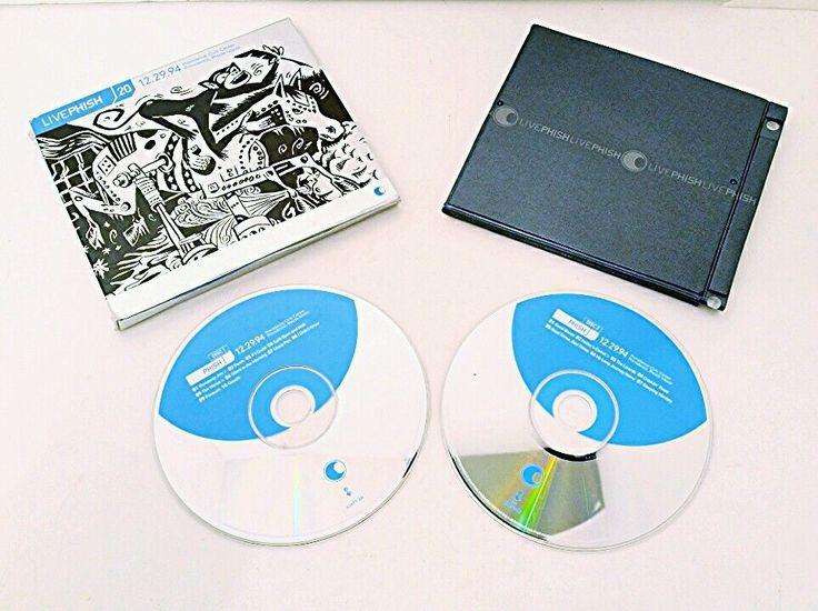 LIVE PHISH VOL 20 CD 12/29/94 PROVIDENCE CIVIC CENTER 2 DISC SLIPCASE FOLDOUT VG #AlternativeIndie