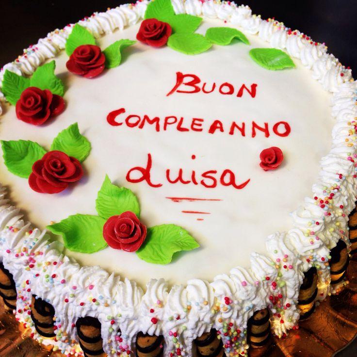 Torta compleanno Luisa