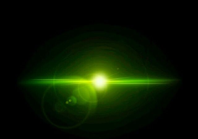 Green Light Effect Light Effect Photo Png