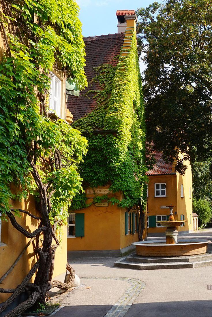Eines der größten Highlights in Augsburg ist die Fuggerei.