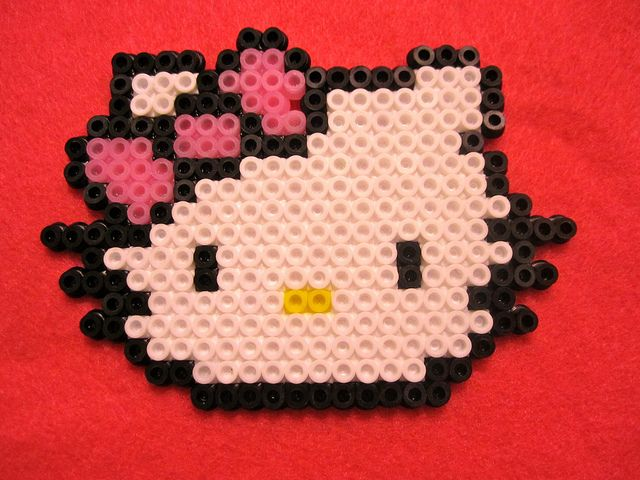 Hello Kitty bead sprite, not by me