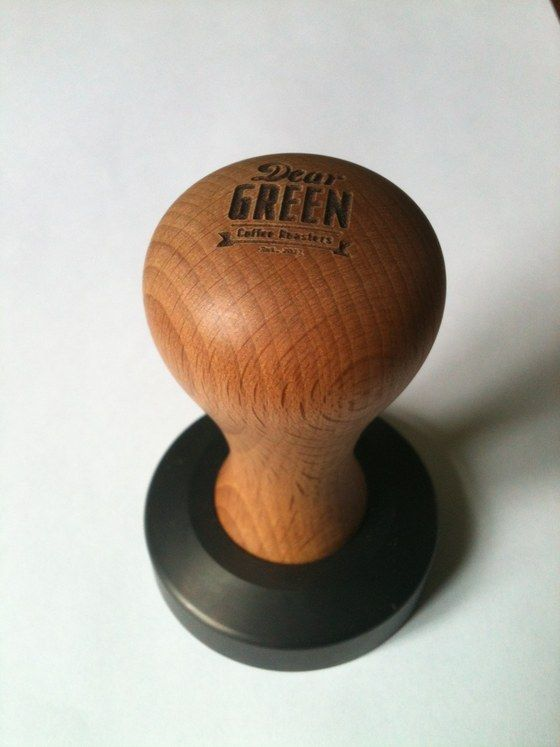 Image of Coffee Tamper - made by 'Knock' - for DEAR GREEN
