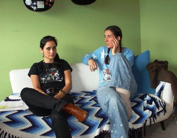 Julieta Venegas & Andrea Echeverri, two of my favorite musicians in the Universe.