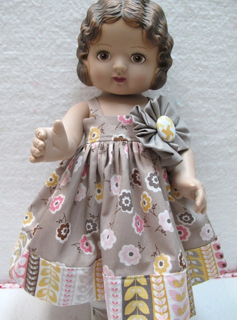 "18"" Doll Dress Pattern"