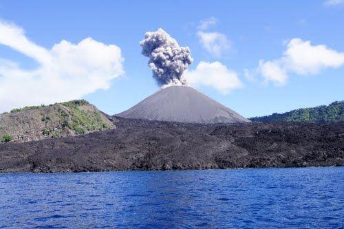 Barren Island Volcano South Asia