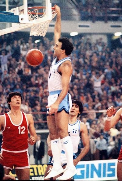 Nikos Galis dunk-Greece