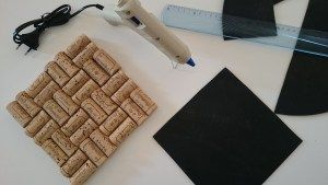 Creatief met kurk: onderzetters voor pannen | Da noi