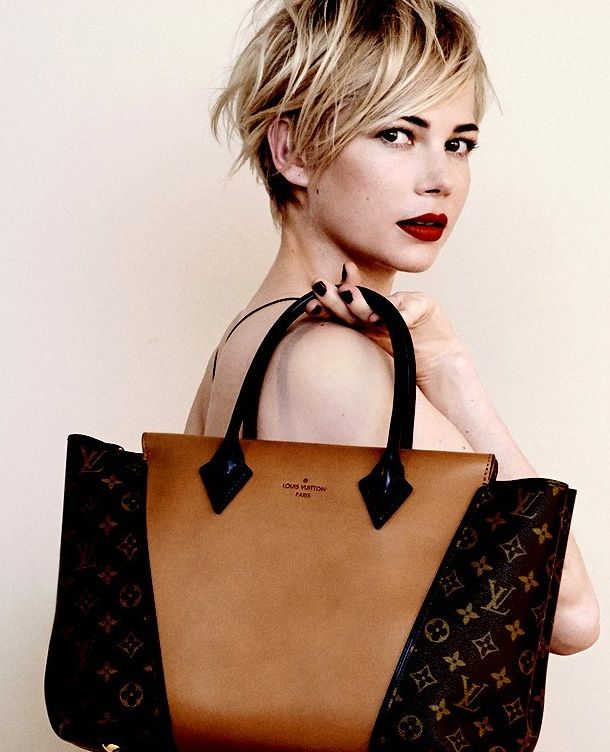 Michelle Williams by Peter Lindbergh for Louis Vuitton