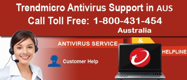Call 1-800-431-454 quick online help service for #TrendMicroAntivirus Number for Australian users