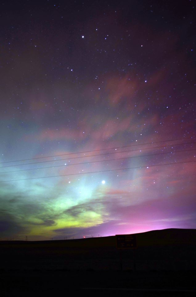 Aurora Borealis, Great Falls, Montana