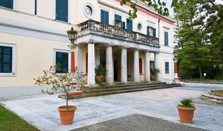Mon Repos in Corfu