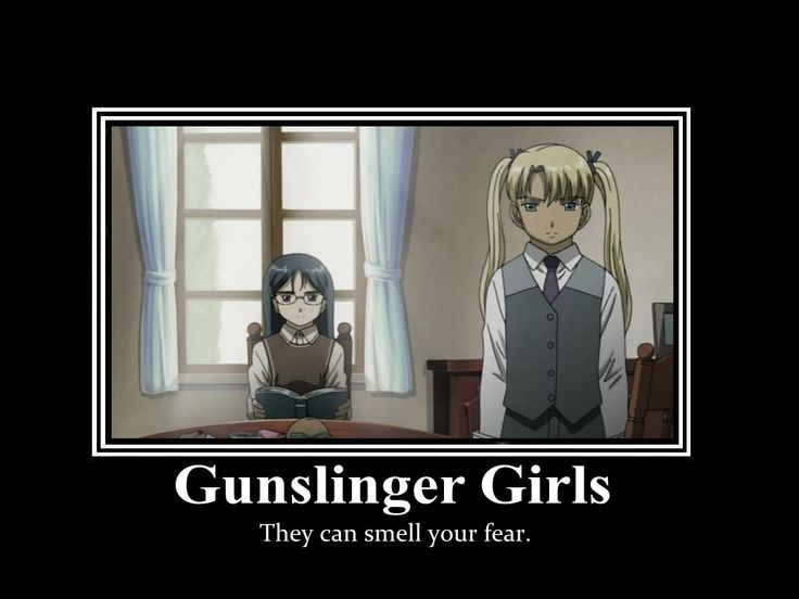 I love me some anime.. and Gunslinger Girls is one of my favorites!