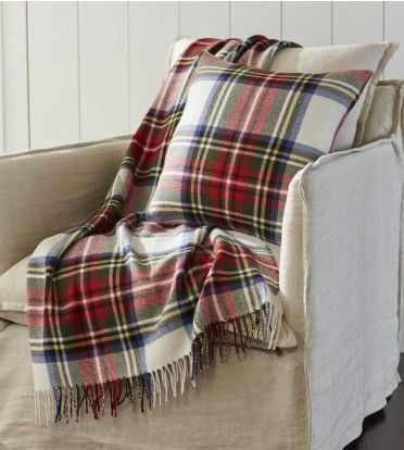 Tartan Pillow & Throw | VivaTerra