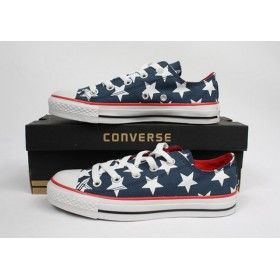Converse Outlet Printed Stellate All Star Canvas Low Tops shoes
