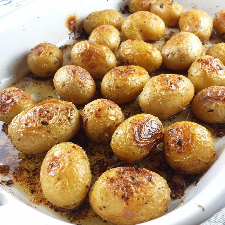 Roasted Honey Gold Potatoes | Recipe | Honey, Potatoes and Gold