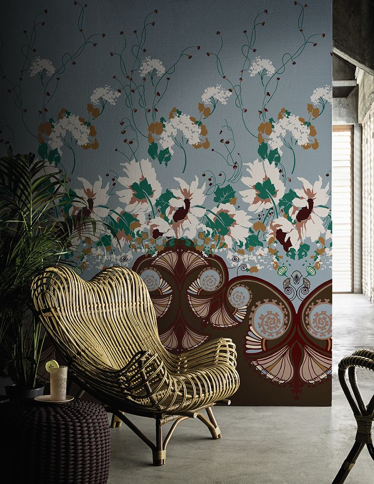 Jasminum www.wallanddeco.com #wallpaper, #wallcovering, #cartedaparati