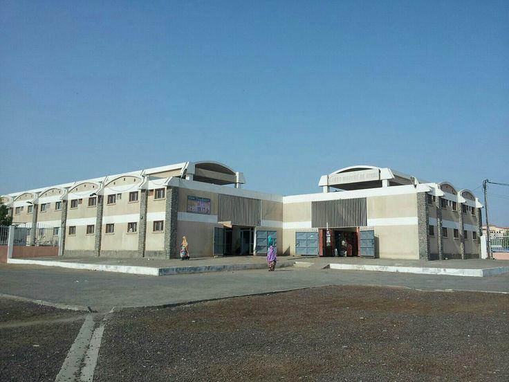 Marketplace of Djibouti City, Capital of Djibouti