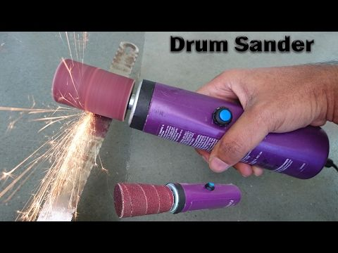 How to Make a Belt Sander at Home - YouTube