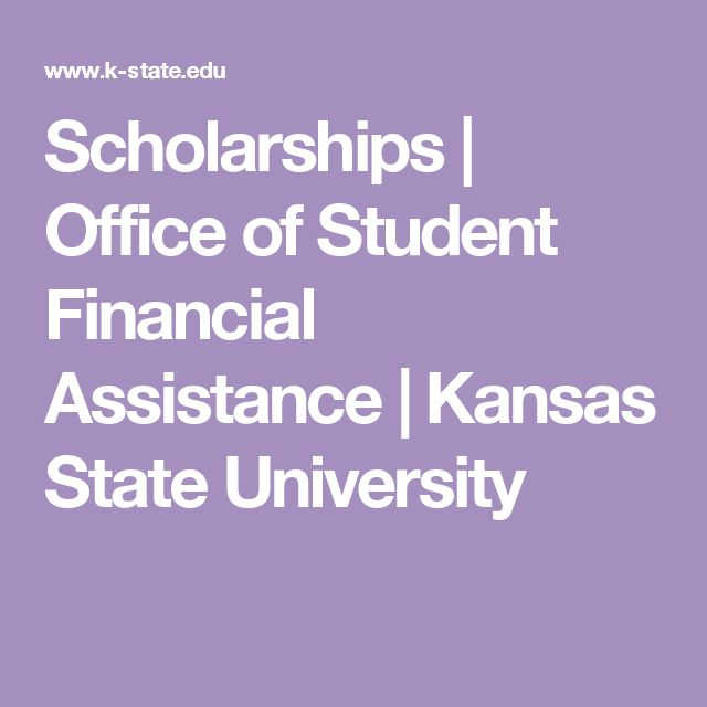 Scholarships | Office of Student Financial Assistance | Kansas State University