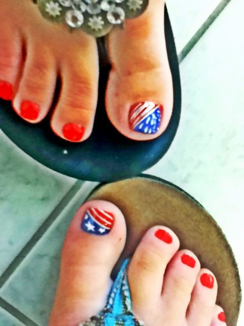 Cute 4th of July Nails! <3 VN Nails