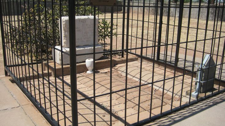 Billy the Kid's Gravesite (Far Right) Fort Sumner, New Mexico