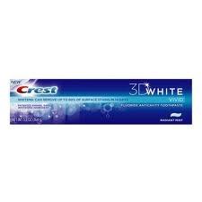 crest 3-D white toothpaste.