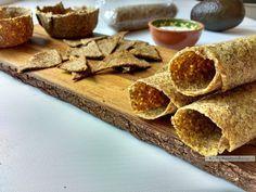 Voor de koolhydraatarme tortilla, taco of koolhydraatarme nachochips gebruik je hetzelfde deegrecept. Gebruik ze in combinatie met verschillende vullingen!