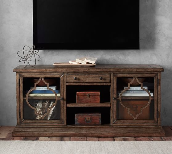 Lorraine Media Console | Pottery Barn