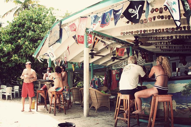 Soggy Dollar Bar / JOST VAN DYKE, BRITISH VIRGIN ISLANDS