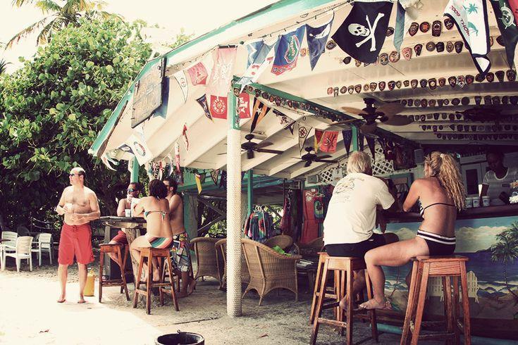 Soggy Dollar Bar / JOST VAN DYKE, BRITISH VIRGIN ISLANDS