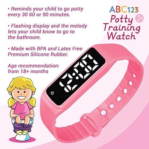 Abc123 Potty Trainingwatch Baby