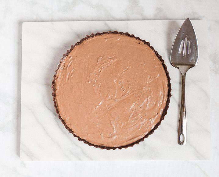 An Indulgent, No-Bake Chocolate Cream Tart That's Junk Free - The Chalkboard