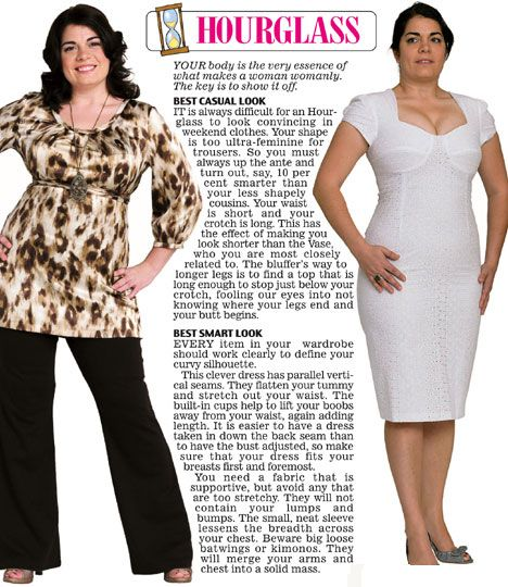 Trinny And Susannah Show Off The Clothes To Suit Their 12 Women S Body Types Hourgl Figure Fashionhourgl