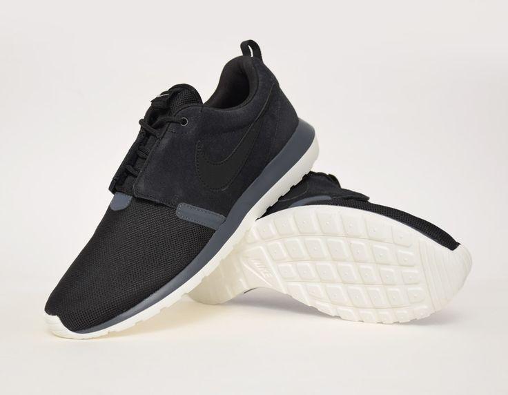 info for 1def3 51f2f ...  Nike Roshe Run NM Black Grey  sneakers ...