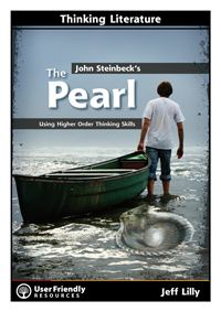 The best selling Thinking Literature series has a  brand new title - John Steinbeck's The Pearl. The resource uses Bloom's Taxonomy as a framework for introducing progressively more demanding activities that will enrich the study of this classic novel of greed, obsession and tragedy. Students begin by remembering details and end by developing and expressing their own ideas about The Pearl. Ideal for differentiated teaching of a whole-class text.