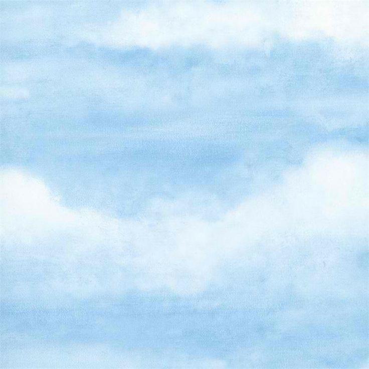 ... blue nautic... Light Blue Anchor Wallpaper