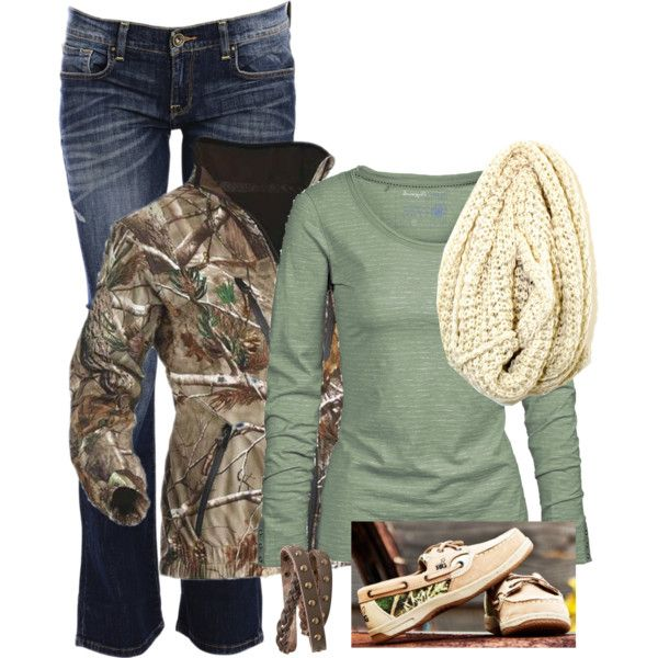 Country Girl Winter Camo Outfit