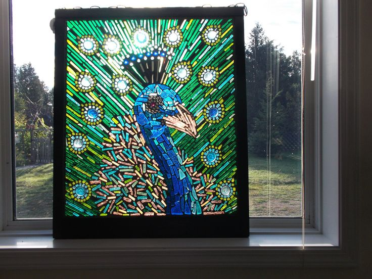 https://flic.kr/p/x49aPD   stained glass mosaic peacock   stained glass mosaic peacock
