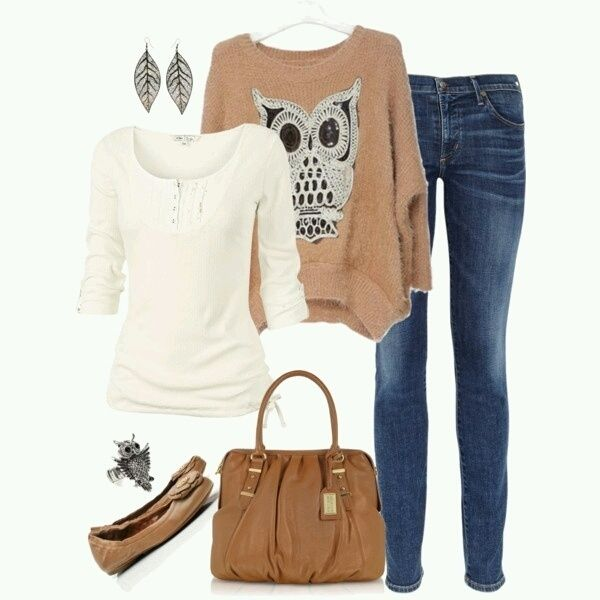 Wish | Causal Owl Outfit
