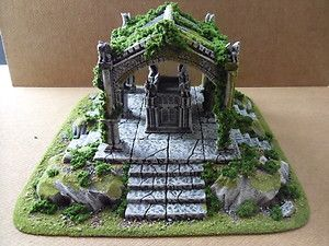 Vampire Count's Tomb 28mm Table Top Wargaming Terrain | eBay