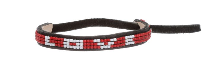 Every purchase creates sustainable livelihoods for thousands of Maasai families. Red beads represent bravery, strength & unity. A great gift for men & women!