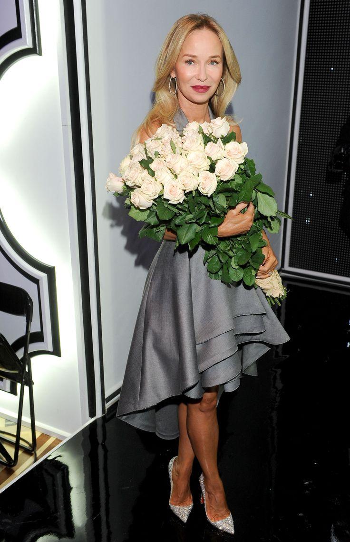 Joanna Przetakiewicz after La Mania SS13 show.