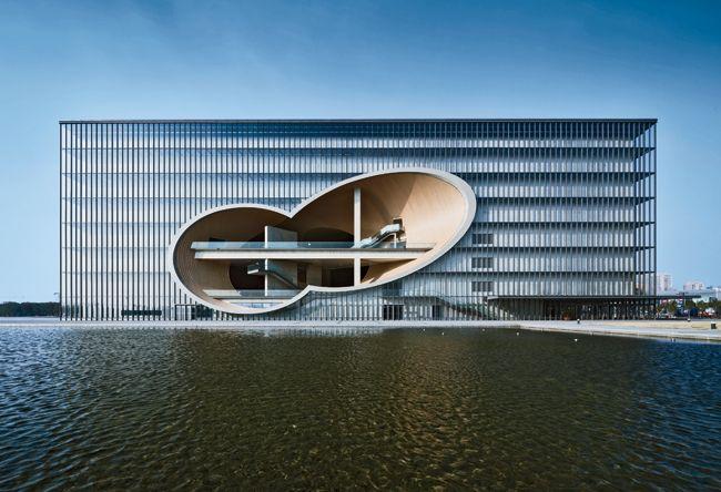 Poly Grand Theater | Shanghai | Tadao Ando Architect & Associates | Photo © Shigeo Ozawa #Shanghai #DesignShanghai