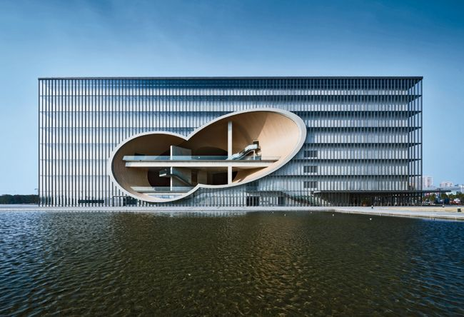 Poly Grand Theater   Shanghai   Tadao Ando Architect & Associates   Photo © Shigeo Ozawa #Shanghai #DesignShanghai