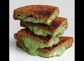 Drool much? Well you're about to --> 17 Sexiest Grilled Cheese Sandwiches via Huffington Post