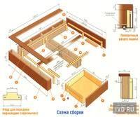 Кровать в нише (альков) - Кровати - Форум мебельщиков