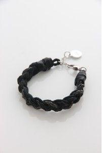 Black bracelete for him M20B by OXXO design