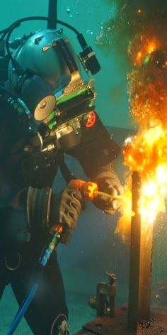 I've always been interested in welding and the Navy has introduced me to the job of underwater welding.  It takes to things that I love and makes one job.