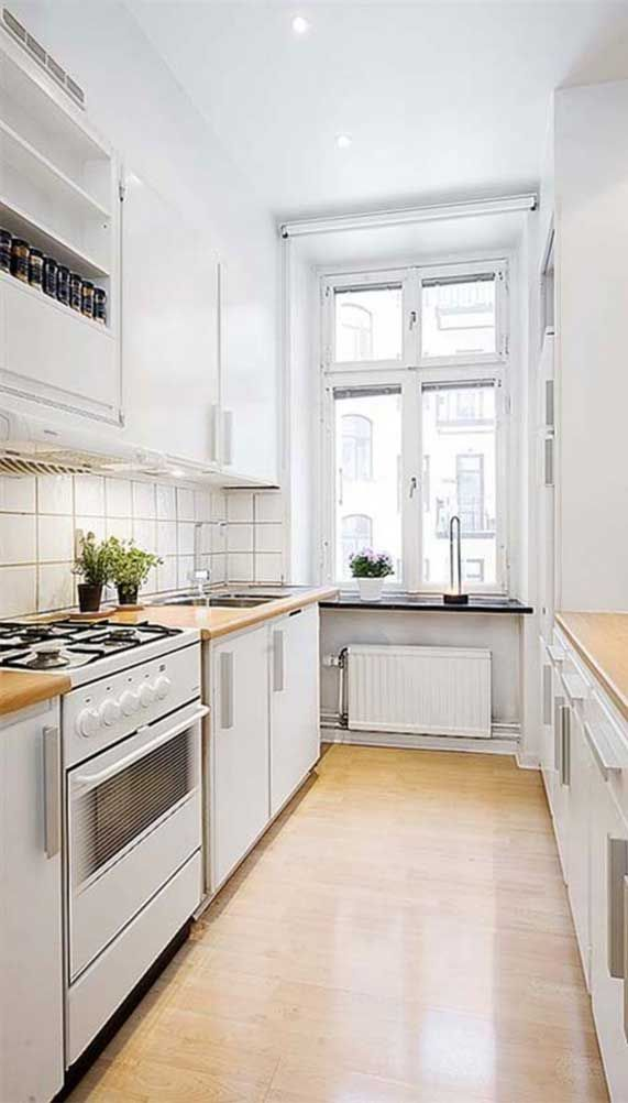 54 Best Small Kitchen Design Ideas For Your Small Kitchen Kitchen Cabinets Small Kitchen Design Apartment Kitchen Design Small Interior Design Apartment Small